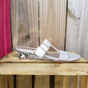 Impo Stretch Wedges Sandals Size 8
